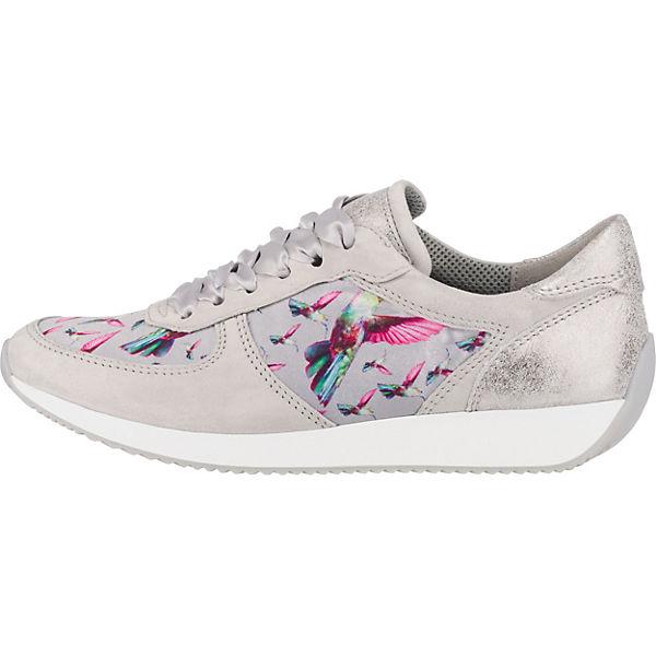 ara, Lissabon Sneakers Low, grau  Gute Qualität Qualität Qualität beliebte Schuhe 9353ae