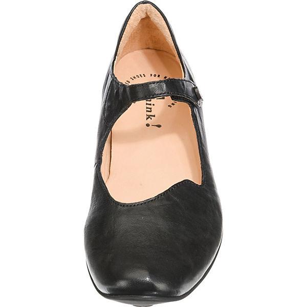 Ballerinas Think Klassische Ballerinas Klassische Think schwarz Chilli Think Chilli Chilli Ballerinas schwarz Klassische schwarz Z8SZwrxq