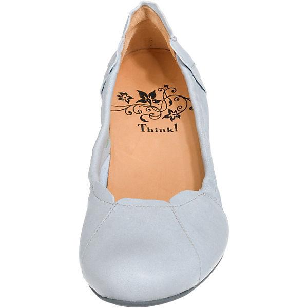 Think Ballerinas Balla hellblau Ballerinas Klassische Ballerinas hellblau Klassische Think Think hellblau Balla Klassische Think Balla SxC0w5q5