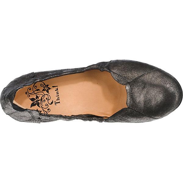 Think! Balla Klassische Ballerinas schwarz