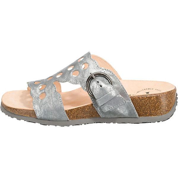 Think!, Mizzi Pantoletten, beliebte grau  Gute Qualität beliebte Pantoletten, Schuhe 17d65a