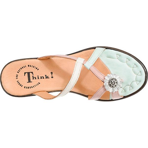 Think Komfort Think Nanet Komfort Sandalen bunt Think bunt Nanet Sandalen Nanet gEPwqxS1U