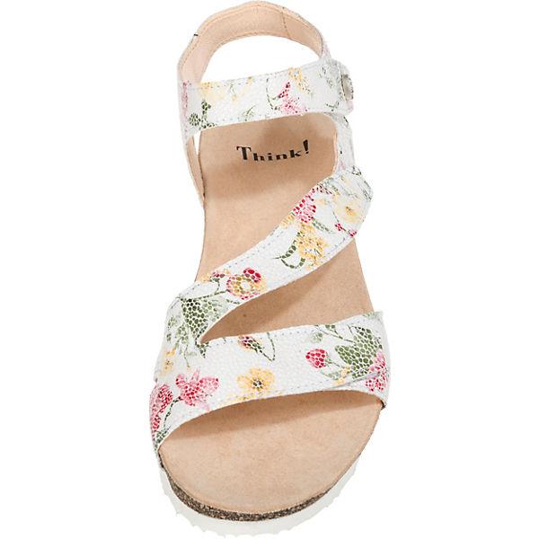 Klassische weiß Think Sandaletten Dumia Sandaletten Dumia weiß Think Dumia Klassische Klassische Sandaletten Think qx4fpqUT