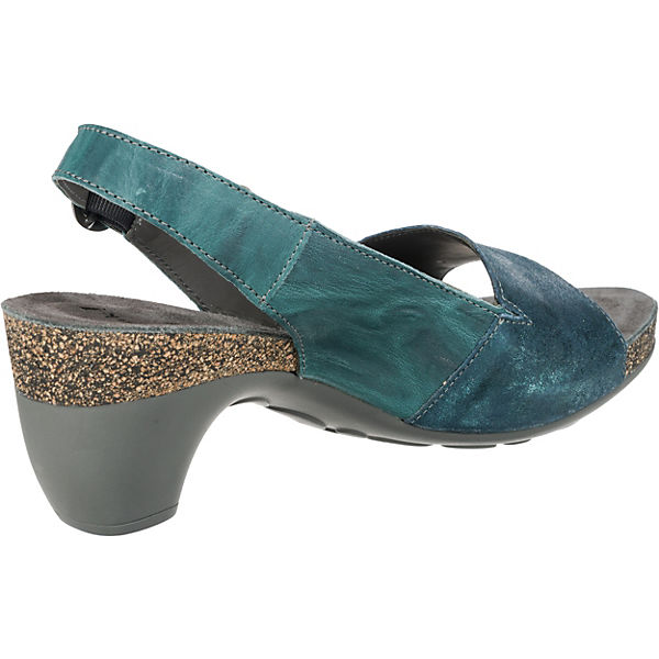 Think!, Traudi Komfort-Sandalen, blau-kombi beliebte  Gute Qualität beliebte blau-kombi Schuhe b56162