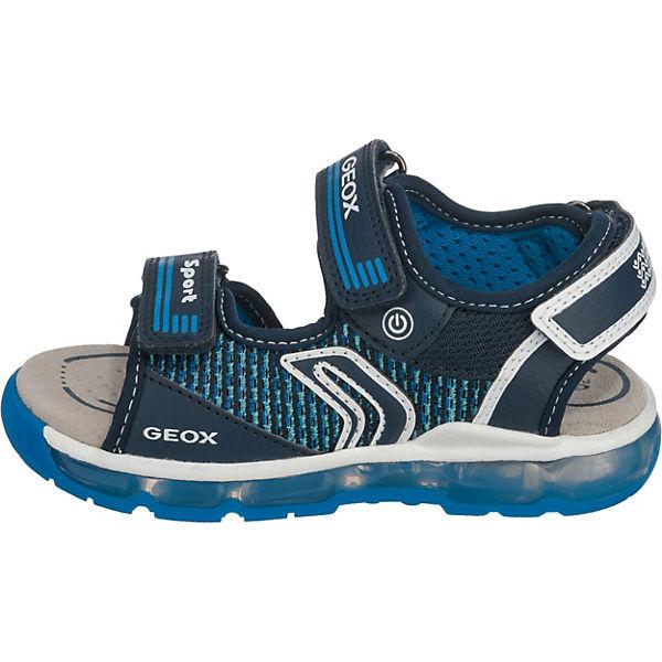 Einkaufen besser geeignet für Männer/Frauen GEOX, Sandalen Blinkies ANDROID für Jungen, blau | mirapodo