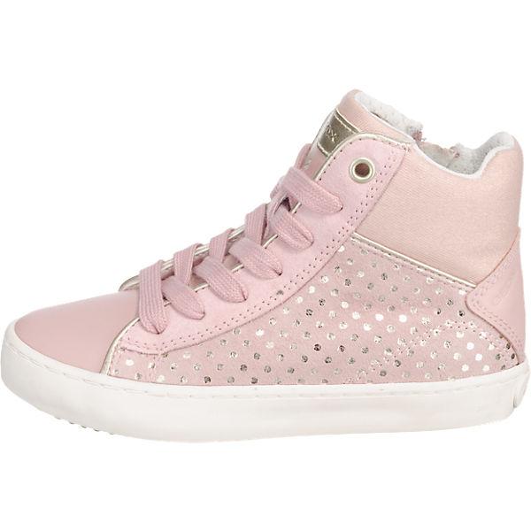 GEOX Sneakers High KILWI für Mädchen rosa