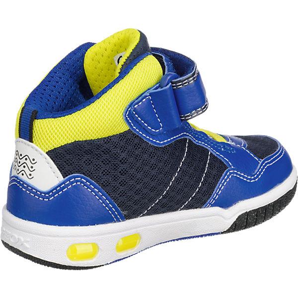 GEOX Sneakers Blinkies GREGG für Jungen, Flügel blau