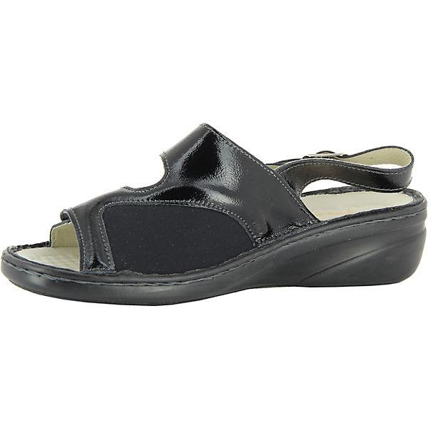 Sandalen Isabell Florett Isabell Florett schwarz Florett Komfort Komfort Sandalen schwarz P6PBwIqRn