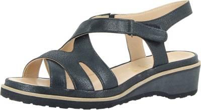 Florett Isabell Komfort-Sandalen, schwarz, schwarz
