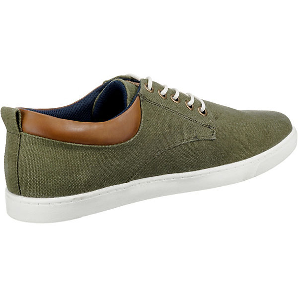 grün Canvas Sneaker Low Sneakers Leichter BULLBOXER XR0n1qU5