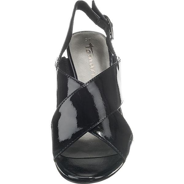 Tamaris schwarz Klassische schwarz Klassische Klassische Sandaletten Tamaris schwarz Sandaletten Sandaletten Tamaris wA7vwtpOq