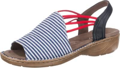Jenny JENNY Korsika Klassische Sandalen, rot, rot-kombi