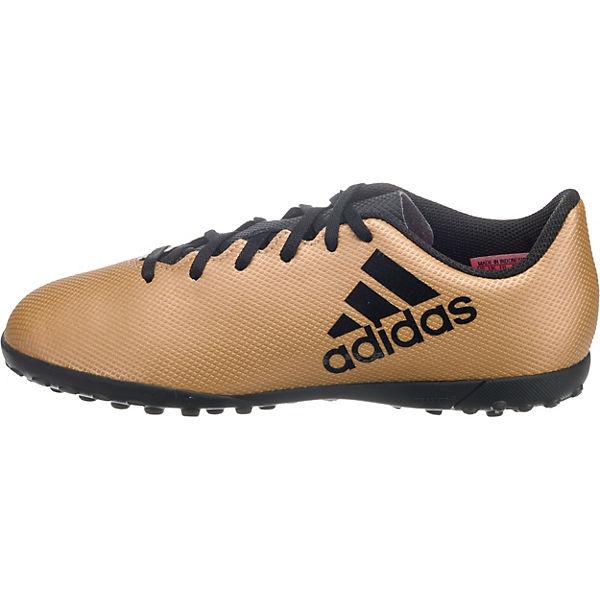 adidas Performance Fußballschuhe X TANGO 17.4 TF J für Jungen schwarz