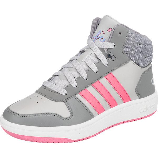 4def7cbe978f2f Sneakers High HOOPS MID 2.0 K für Mädchen. adidas Sport Inspired