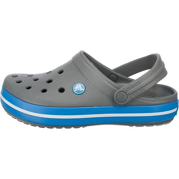 crocs Crocband Clogs grau-kombi