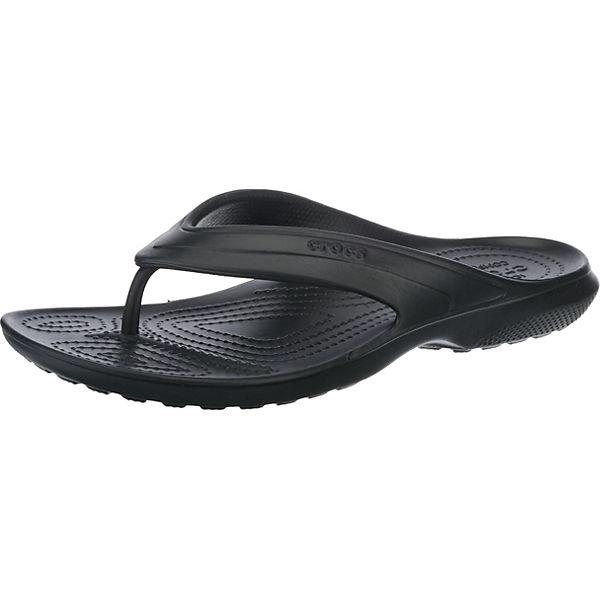 crocs Classic Flip Zehentrenner schwarz