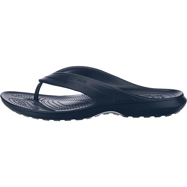 crocs Classic Flip Zehentrenner blau