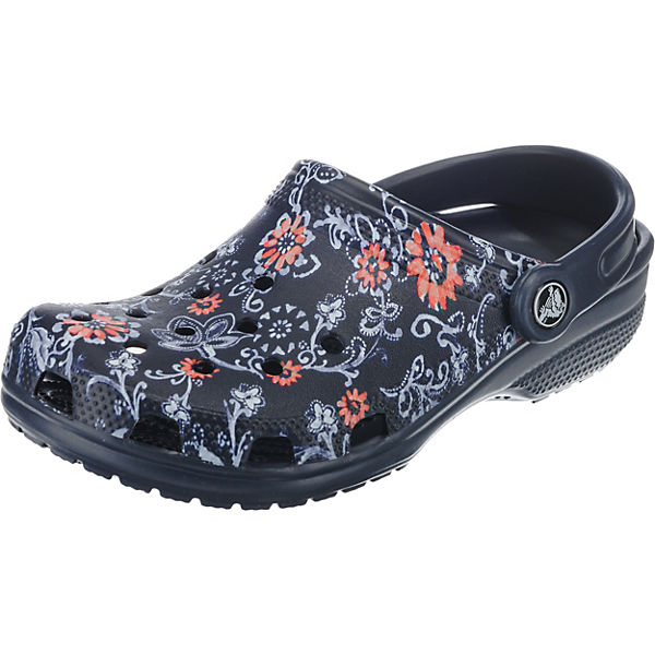 crocs Classic Graphic Clog Clogs bunt