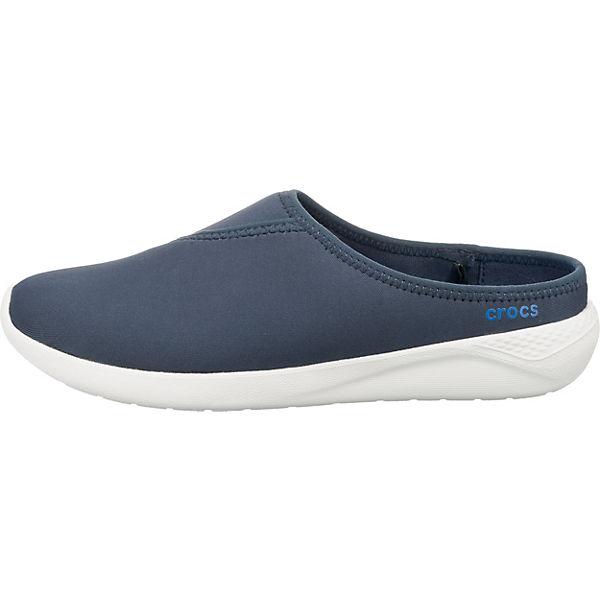 crocs, LiteRide  Mule W Clogs, blau  LiteRide  52b792