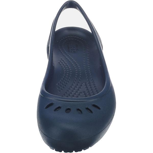 crocs Kadee Slingback W Sling-Ballerinas blau