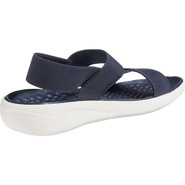 Crocs, LiteRide Sandale Sandale Sandale W Komfort-Sandalen, blau  Gute Qualität beliebte Schuhe 18298a