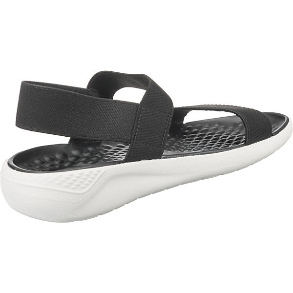 Crocs, LiteRide Sandale W Komfort-Sandalen, Schuhe schwarz Gute Qualität beliebte Schuhe Komfort-Sandalen, 96cb82
