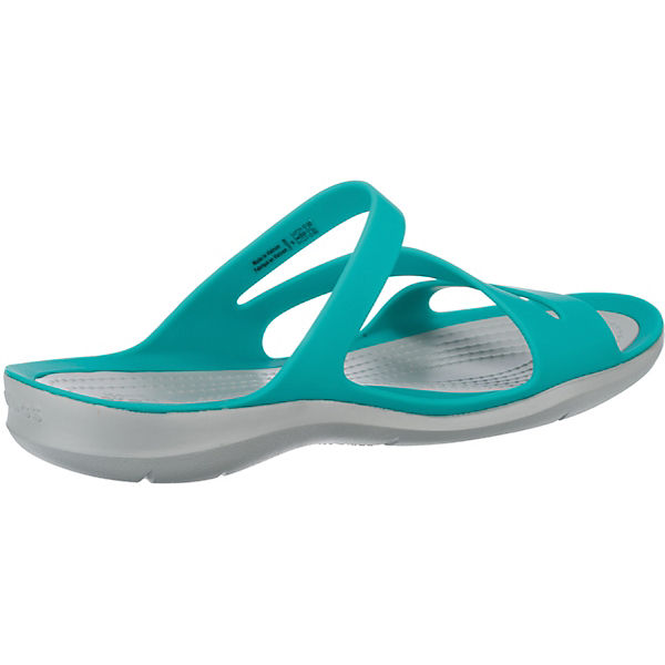 Swiftwater weiß crocs Komfort türkis Pantoletten Sandal W Tzdwfq0d