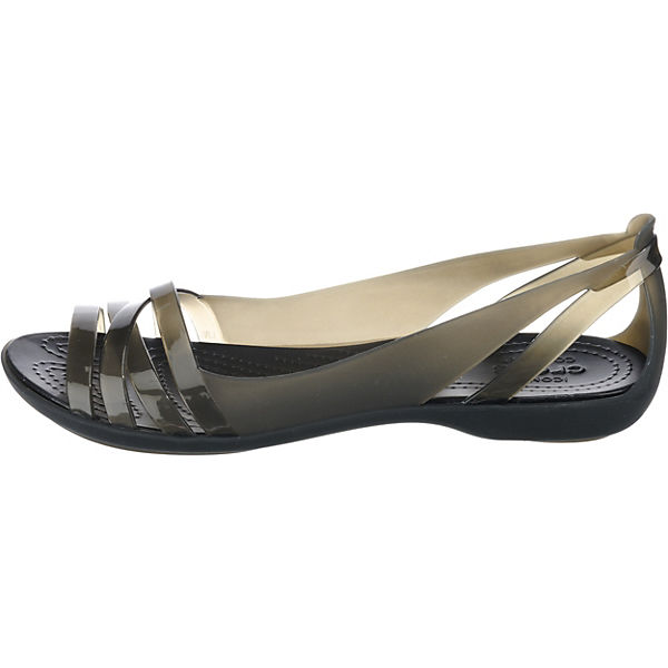 Ballerinas 2 Flat Huarache crocs Klassische schwarz W Isabella tYfwx