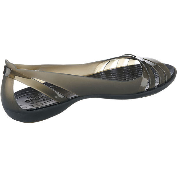 crocs Klassische Huarache W Ballerinas schwarz Flat Isabella 2 rwUXrZq