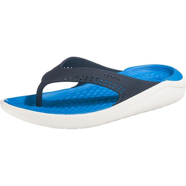 kombi crocs blau LiteRide Zehentrenner Flip wUICrU