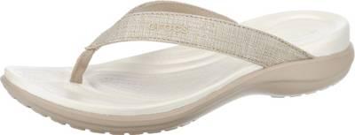 crocs Schuhe - Zehentrenner CROCBAND FLIP- navy, Größe:42-43
