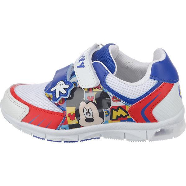 Disney Mickey Mouse & friends Halbschuhe Blinkies für Jungen blau