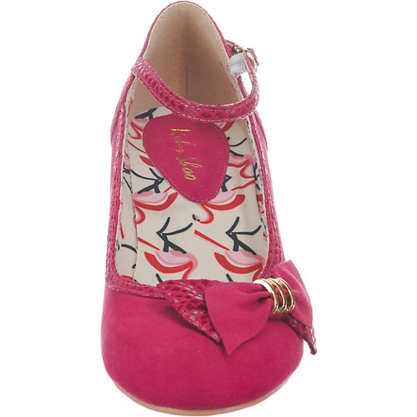 Ruby Shoo, Cordelia Spangenpumps, dunkellila Schuhe  Gute Qualität beliebte Schuhe dunkellila 4aacbc