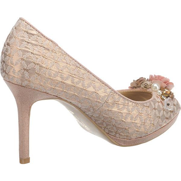 Ruby Shoo Sonia Peeptoe-Pumps Peeptoe-Pumps Peeptoe-Pumps gold-kombi  Gute Qualität beliebte Schuhe 9a03ab