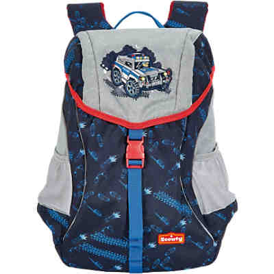 SCOUTY 21100058000 SCOUTY  Woody Kinderrucksack Supercop (Kollektion 2018)