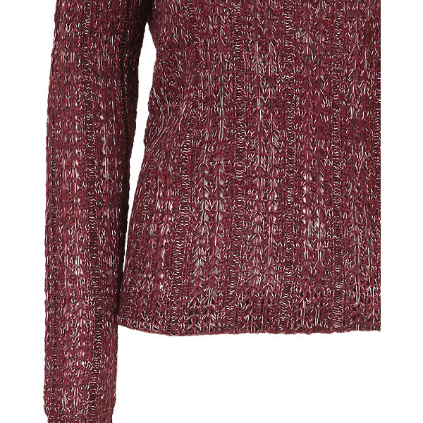 Off VERO MODA rot Pullover Shoulder qwzX5