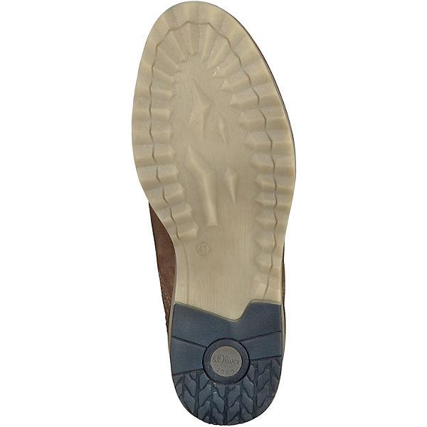 s.Oliver, Freizeit Schuhe, braun braun Schuhe,   adc2cc