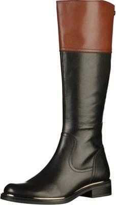 Caprice »Leder« High-Heel-Stiefel, schwarz, EURO-Größen, schwarz