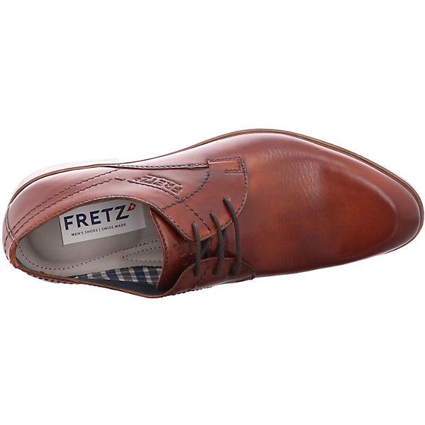 Oskar FRETZ Schuhe braun men Business aB77ZWH8q