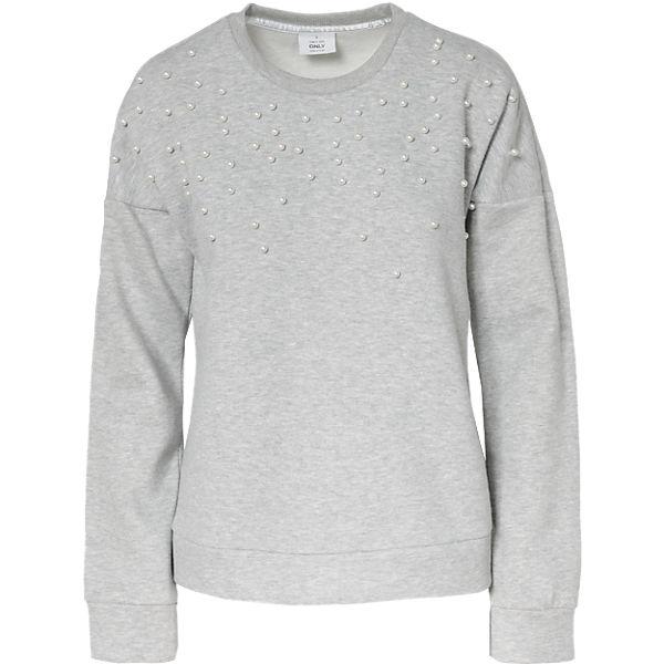 ONLY hellgrau ONLY hellgrau Sweatshirt Sweatshirt Sweatshirt Sweatshirt hellgrau ONLY hellgrau ONLY ONLY Sweatshirt ONLY hellgrau 0qIXFAx
