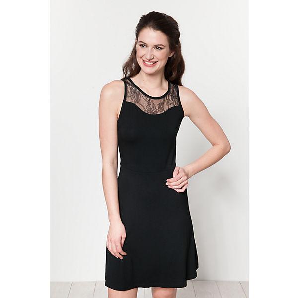 schwarz ONLY Kleid ONLY Kleid aOvRgg