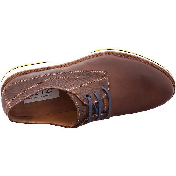 FRETZ men Steven Freizeit Schuhe braun