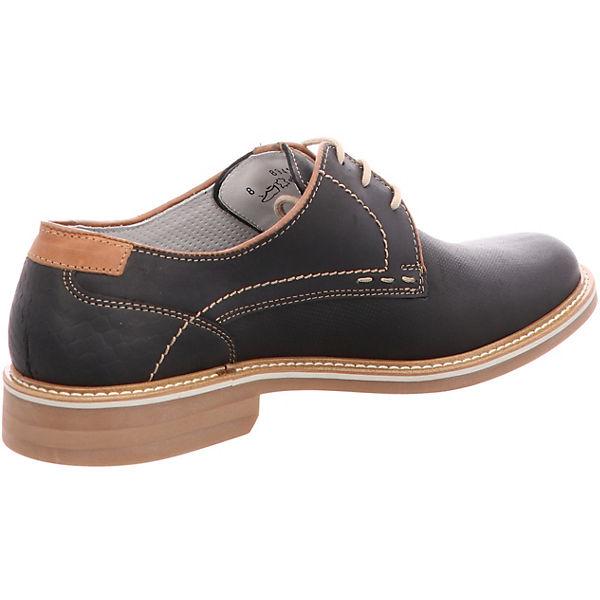 FRETZ men,  Locarno Freizeit Schuhe, schwarz  men,  20883c