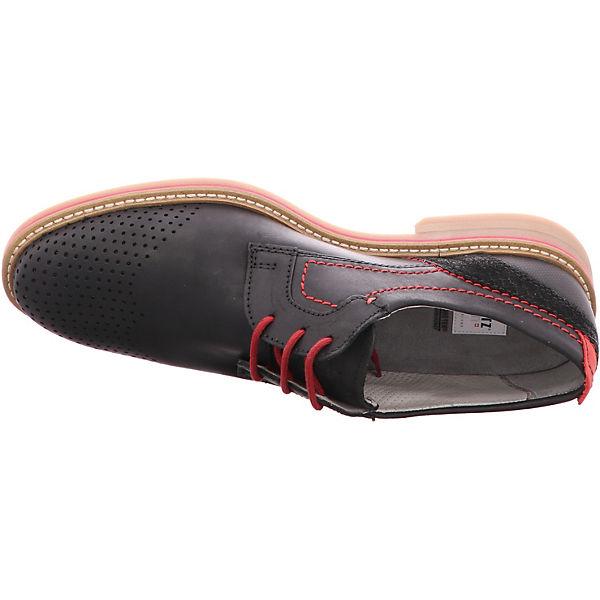 FRETZ men, Schuhe, Locarno Freizeit Schuhe, men, schwarz   980d4d