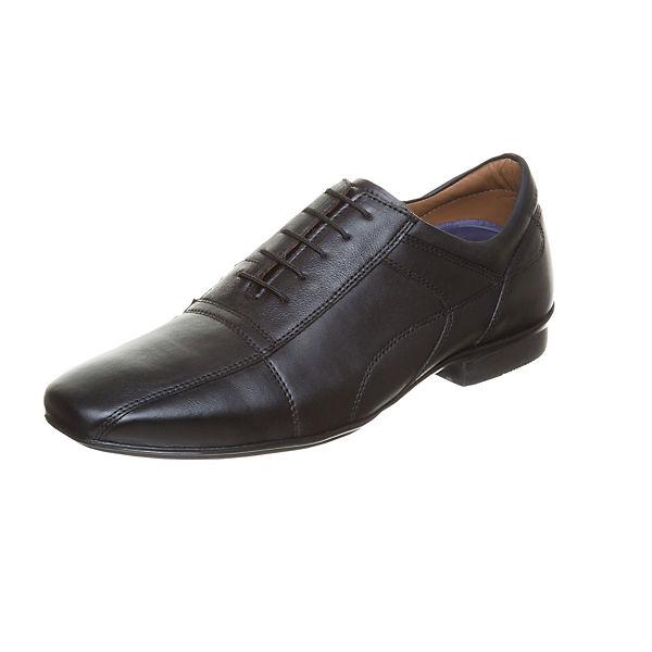 Business MANZ schwarz Schnürschuhe Business Malaga Malaga MANZ schwarz Schnürschuhe 4TawOxaEq