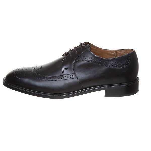 MANZ Terni Business-Schnürschuhe schwarz  Gute Qualität beliebte Schuhe