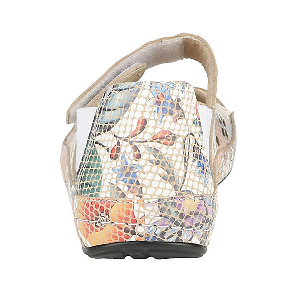 Naturläufer Komfort-Sandalen bunt