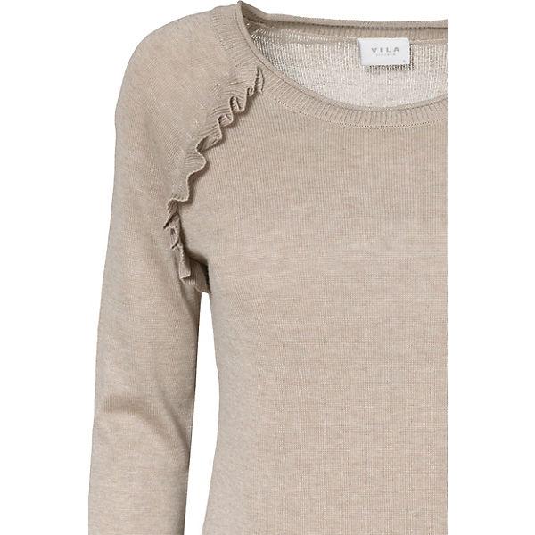 Pullover beige VILA VILA Pullover beige 5TqwTHr