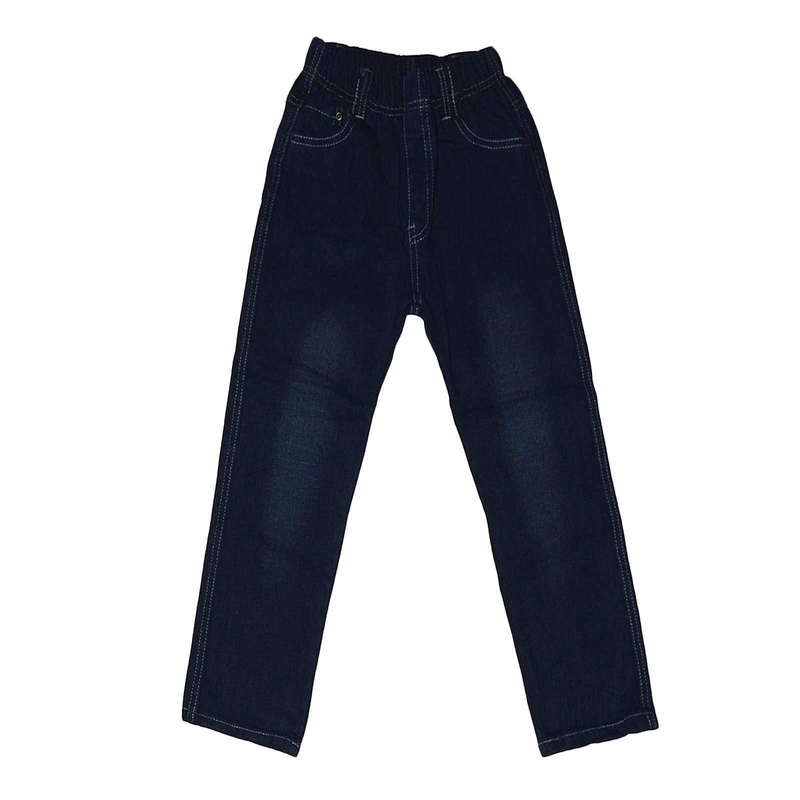 familytrends Jeanshose für Jungen schwarz Junge Gr. 98/104