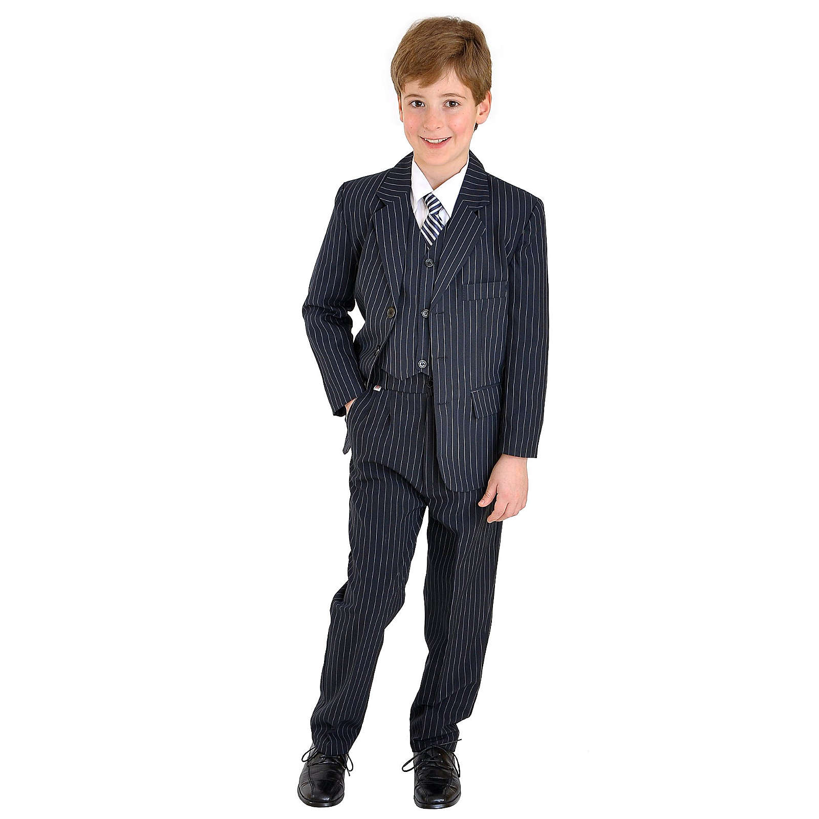 familytrends family-trends Festtagsanzug Anzüge dunkelblau Junge Gr. 98